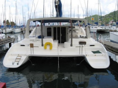 Preowned Sail Catamarans for Sale 2004 Leopard 47 Deck & Equipment